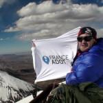 Paul Baudry record d'altitude pour un greffé cardiaque à 6136m
