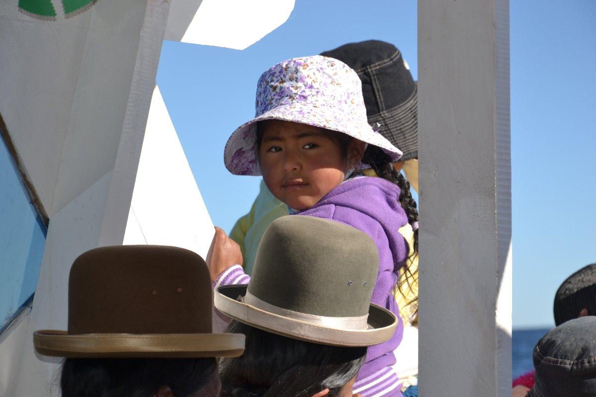 Boliviennes et chapeaux