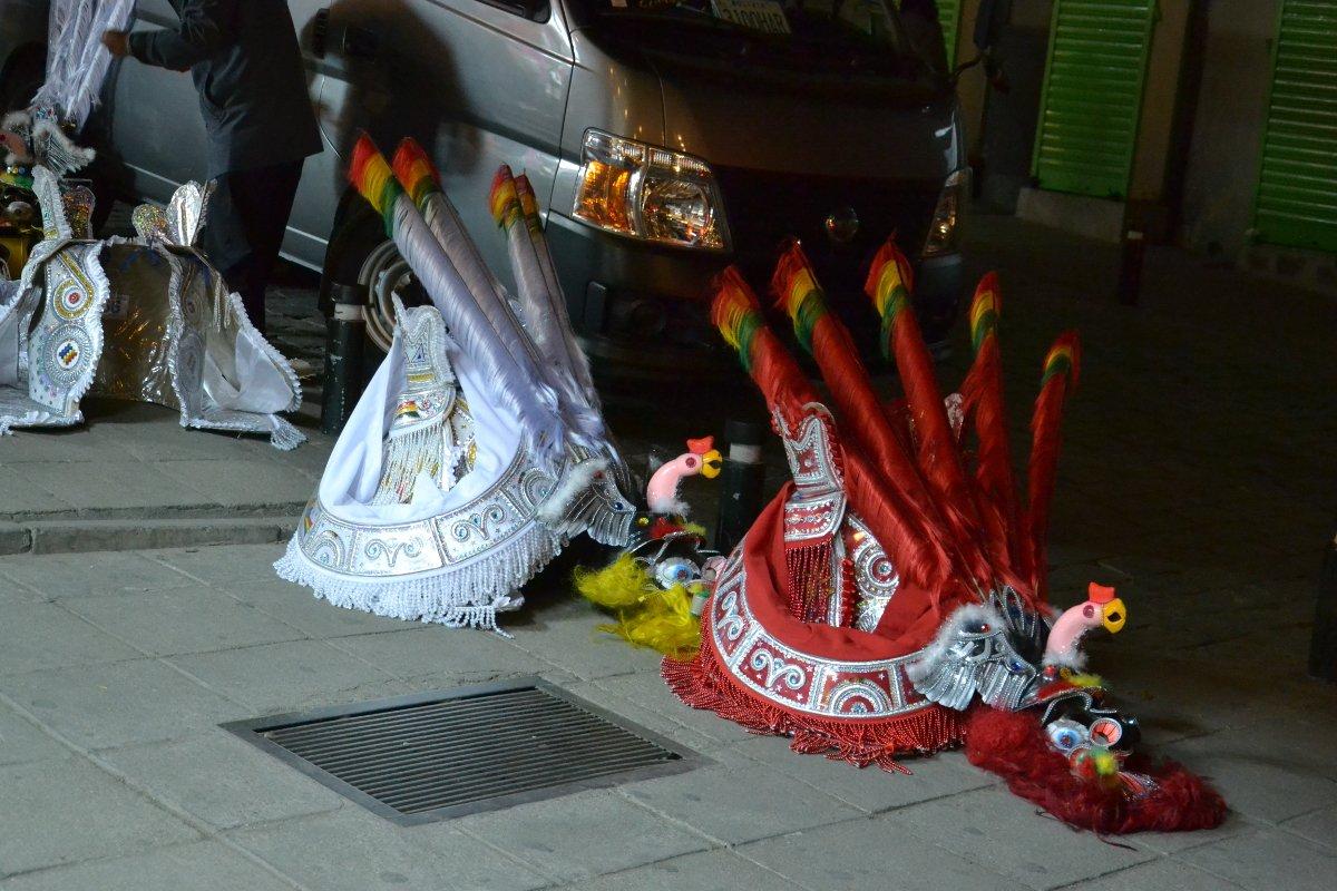 Masques de danse folklorique